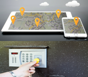 Location Tracking & Access Control with Wearable Device